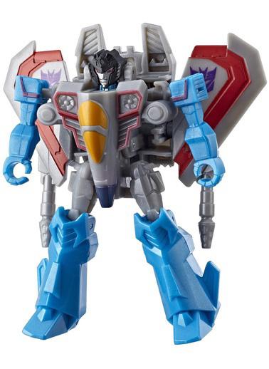 Transformers Transformers Cyberverse Küçük Figür Starscream Renkli